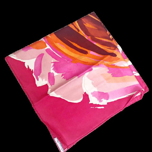 【VINTAGE BRAND SCARF 】DIOR スカーフ 2021-051