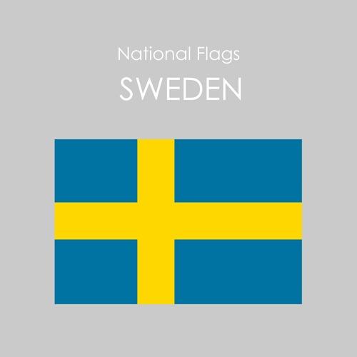 国旗ステッカー スウェーデン