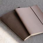 革のノートカバー