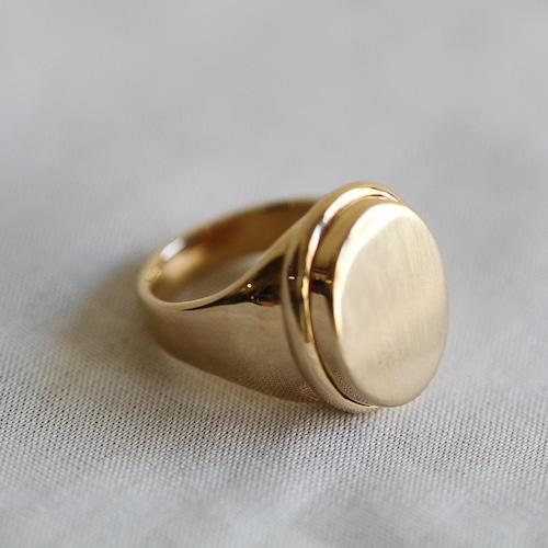PALA【 womens 】 signet ring 001
