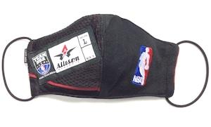 【デザイナーズマスク 吸水速乾COOLMAX使用 日本製】NBA SPORTS MASK CTMR 1130001