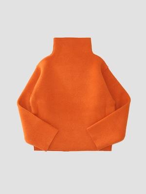 MAISON EUREKA COMPRESSED VOLUME SWEATER Orange 266