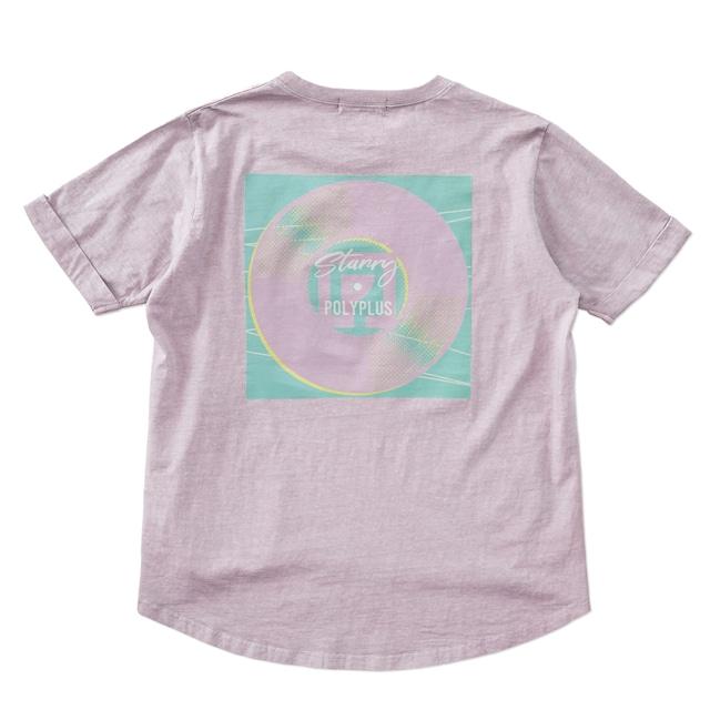 Starry Artwork T-shirt ラベンダー