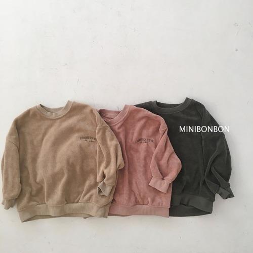 minibonbon パイル地プルオーバー140~150