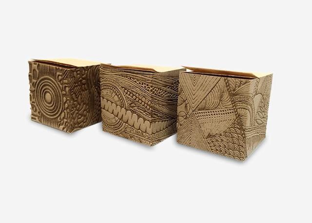 彫刻フセン(3個セット)モンメ&ナガレ&ミナモ