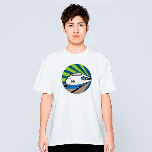 新幹線 大人 Tシャツ メンズ レディース おしゃれ かわいい 白 夏 プレゼント 大きいサイズ 綿100% 160 S M L XL