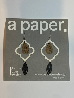 【Paper Jewely】シェイド/ピアス
