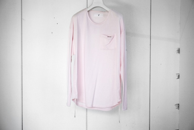 ASKYY / ASKWHYWHY CODE L/S (PRINT) / PNK