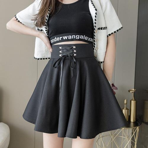 ウエストレースアップスカート ・13958