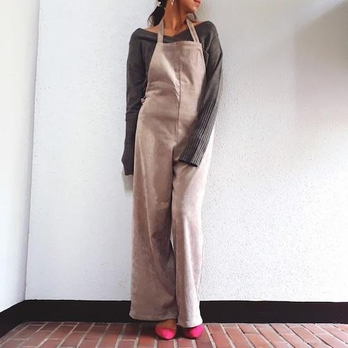 BANAL Comfort Wear(コーデュロイエプロンサロペット)