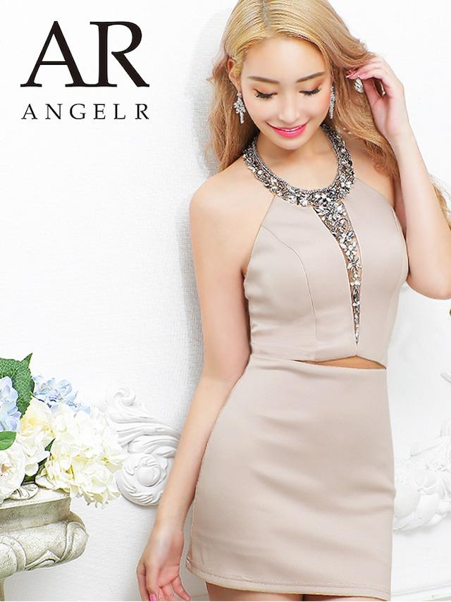 【AngelR】【予約】10月下旬から11月上旬より発送[デザインカットビジュータイトミニドレス(AR21212)
