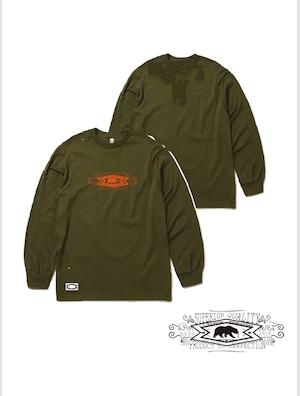 L/ S T-shirts military green