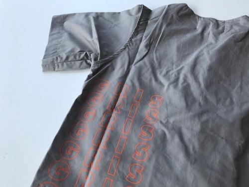 GRIS グリ print cook short sleeve shirts GRAY Size:M(120~135)