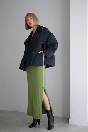 ROOM211 / Padding short jacket Coat (black)