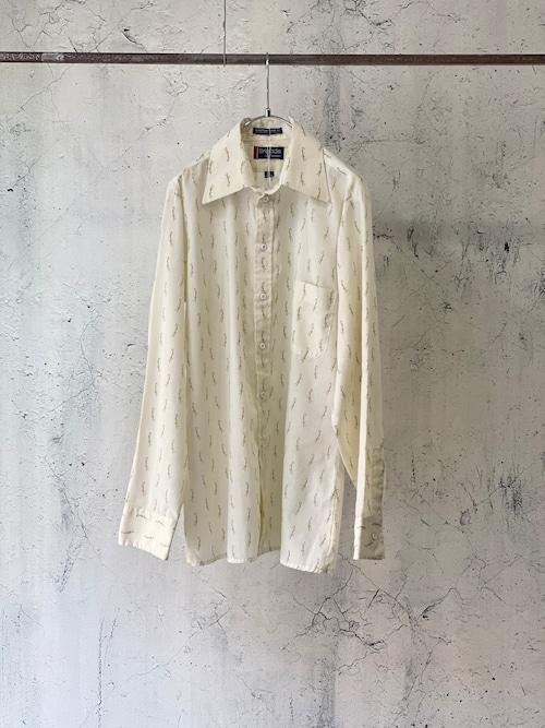 see-through poly shirt