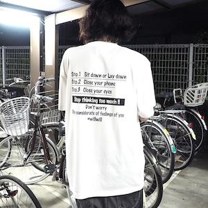 WillxWill Relax T-shirts White