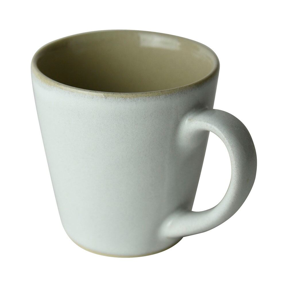 益子焼 つかもと窯 「伝統釉」マグカップ 260ml 糠白釉 PM-4
