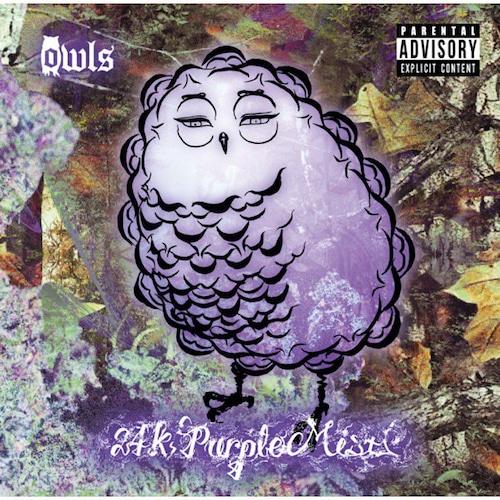 【残りわずか/LP】owls - 24K Purple Mist -LP-