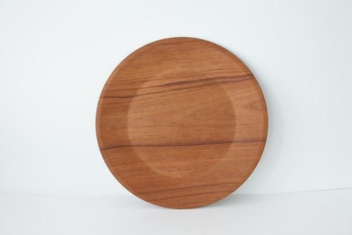 vintage teak plywood plate / ヴィンテージ チーク プライウッド プレート
