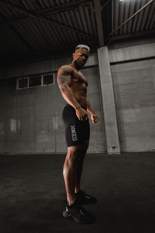 XENO SHORT TIGHTS Black