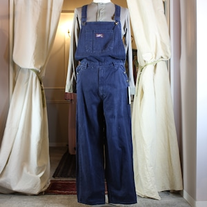 USA VINTAGE COTTON OVERALL MADE IN TAIWAN/アメリカ古着コットンオーバーオール(男女兼用)