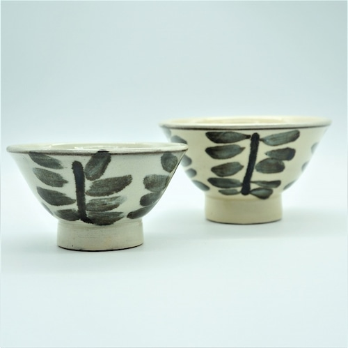 3.5寸マカイ 木の葉(このは)【壺屋焼窯元 幸陶器】