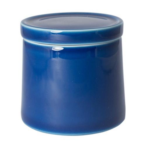 白山陶器 M型シュガーポット ブルー
