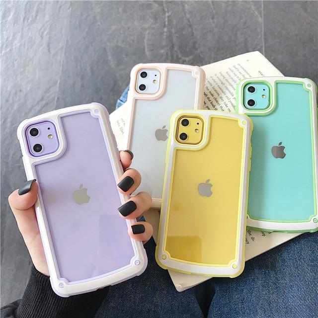 Macaron color iphone case