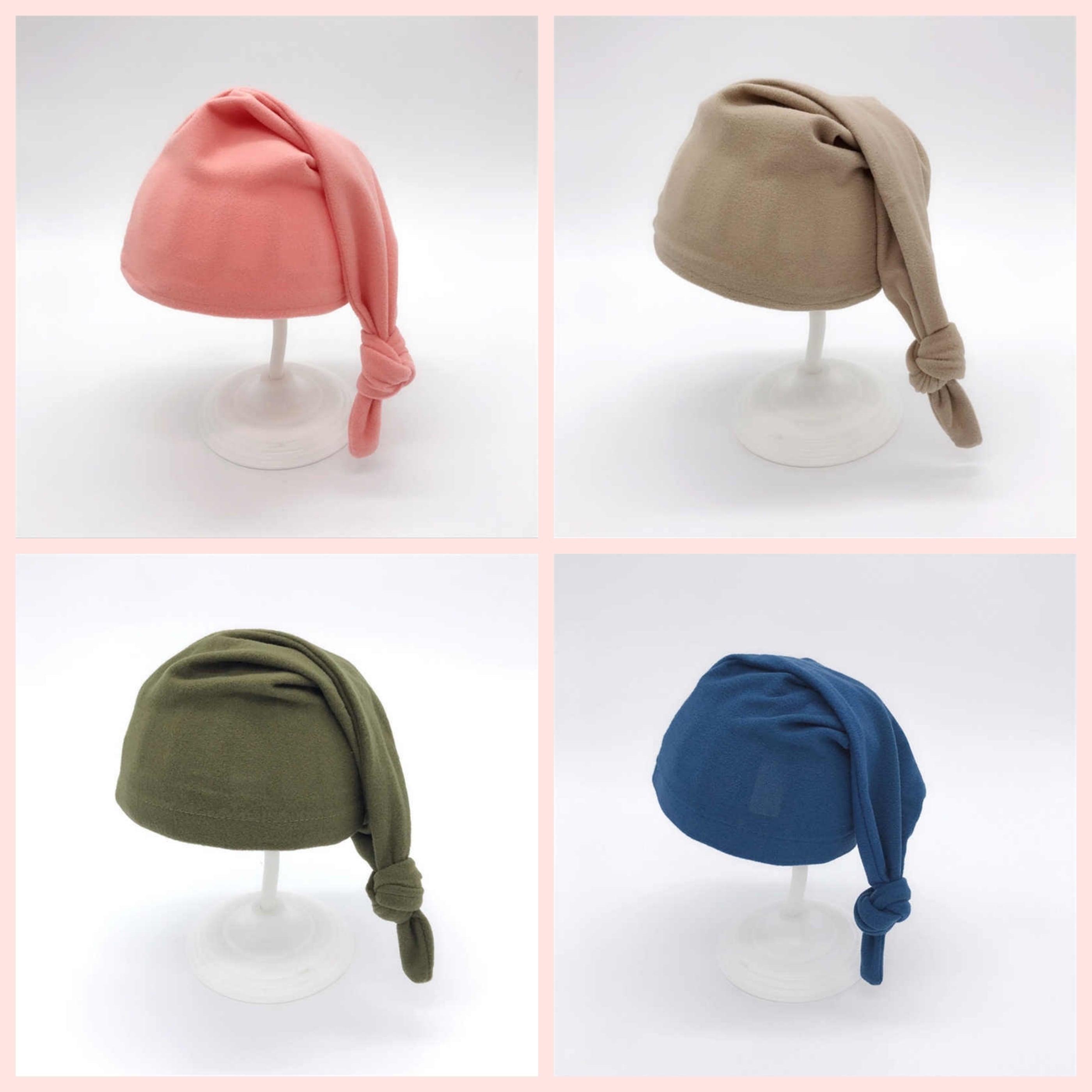 柔らかシンプルニット帽