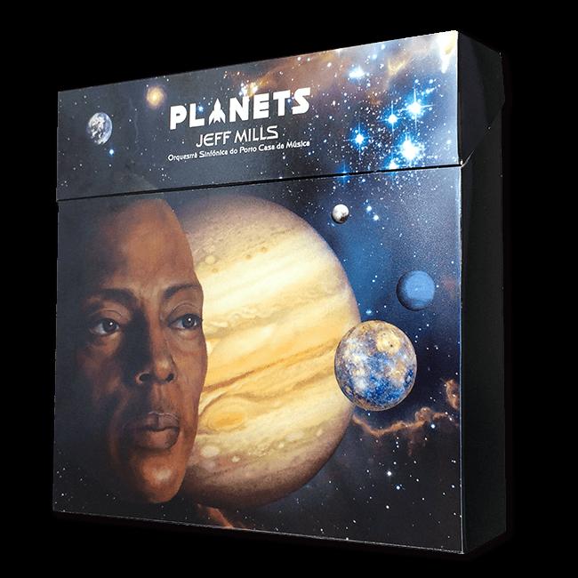ジェフ・ミルズ&ポルト・カサダムジカ交響楽団 - Planets(初回生産限定盤[Blu-ray+CD]) - 画像1