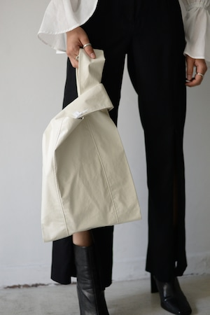 UNDECORATED / VEGAN LEATHER BAG (2color)