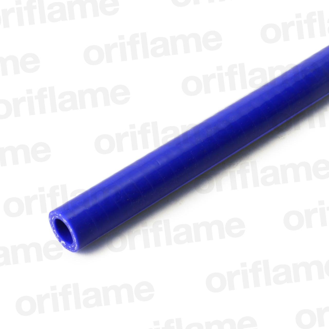 ストレートホース・内径13mm・ブルー