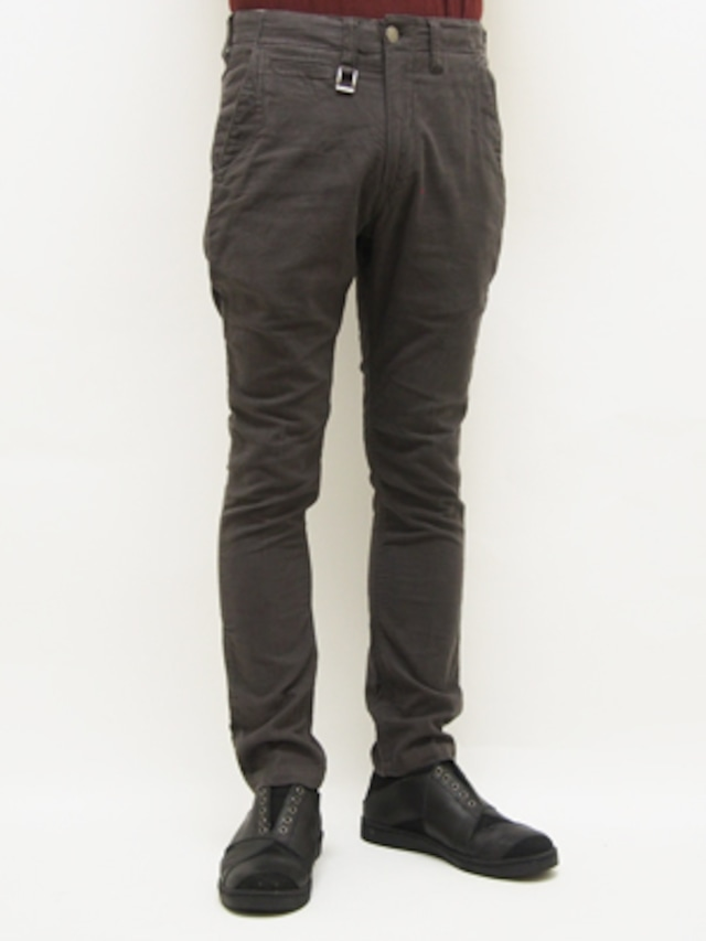 EGO TRIPPING (エゴトリッピング) STRETCH CORD CHINO / CHARCOAL 623103-04