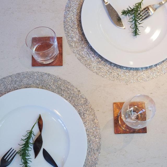 ランチョンマット Metallic Lace   Chilewich