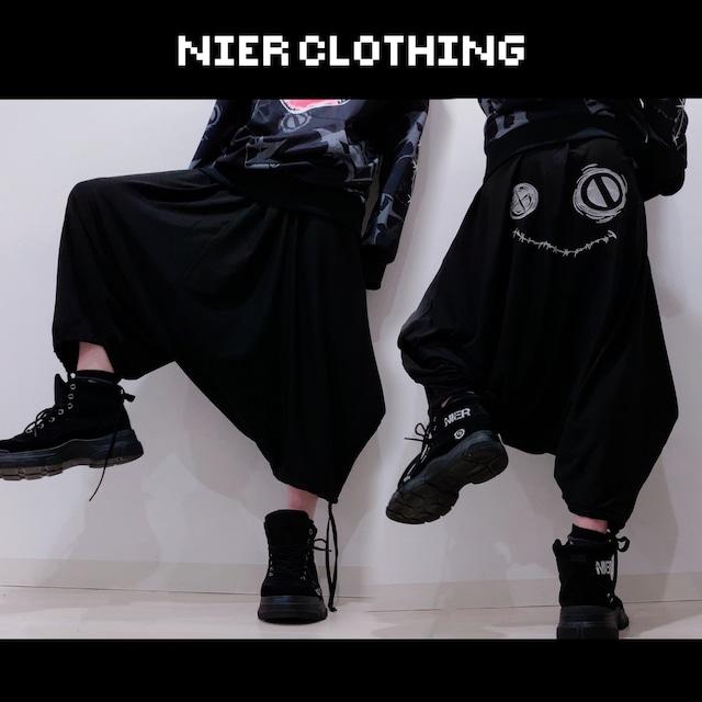 BLACK SARROUEL PANTS【NieR FACE】
