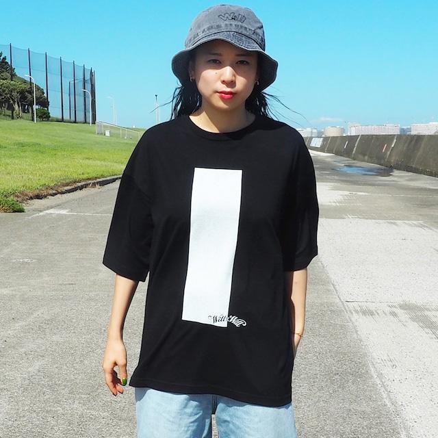 Inversion Big Silhouette T-shirts Black