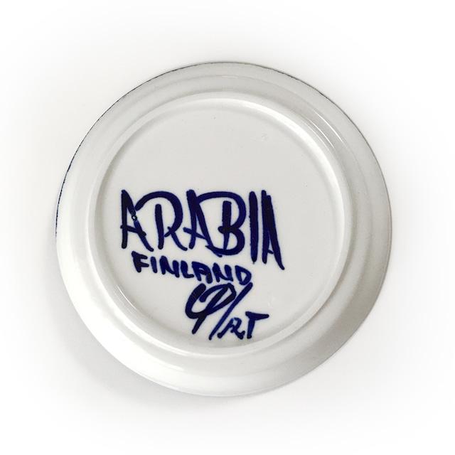 ARABIA アラビア Valencia バレンシア 75mmデミタスカップ&ソーサー 北欧ヴィンテージ