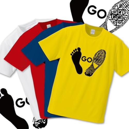 「GO」Tシャツ