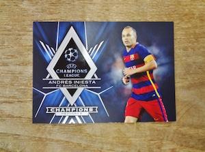 アンドレス・イニエスタ No.CP-AI 2015-16 TOPPS UEFA CHAMPIONS LEAGUE