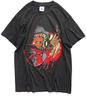 80年代 エルム街の悪夢 4 映画 Tシャツ 【L】   フレディ ホラー アメリカ ヴィンテージ 古着