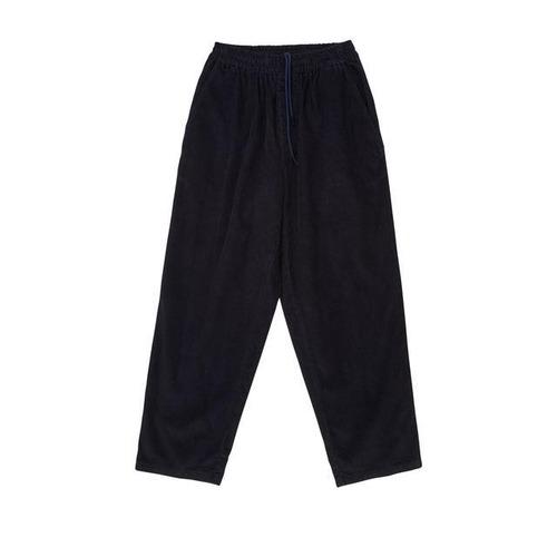 Polar skate co. Cord Surf Pants BLUEISH BLACK M ポーラー コーデュロイ パンツ