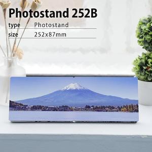 オーダーフォトスタンド252B(パノラマ/P判サイズ/枠なし)/パノラマサイズのフォトプリント | フォトパネル | 写真プリント