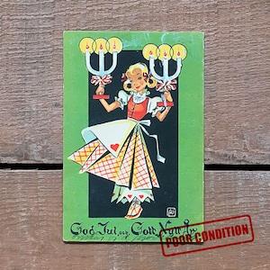 ミニ・クリスマスカード「Astrid Österling(アストリッド・オステリング)」《201211-05》