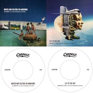 *お1人様1枚まで。   Water & Cluture or Mansions / DJ KENTA feat.Nick/Fly To The Sky / Majestic Two feat.Nick Kurosawa&Ohtoro