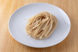 (送料込み) 福井県産香味焙煎玄米粉使用 玄米麺 フィットチーネタイプ 6食セット
