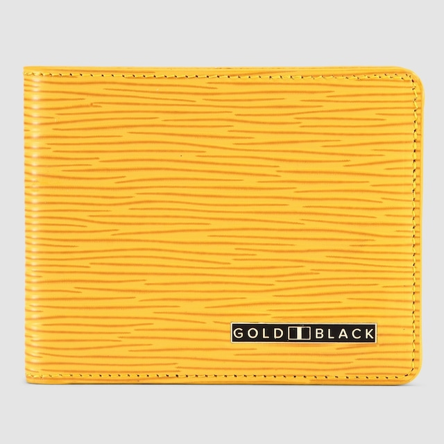 ゴールドブラック(GOLDBLACK) GM WALLET UNICO YELLOW
