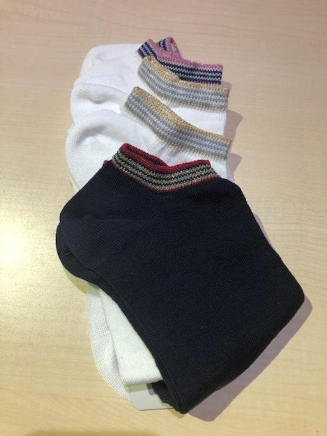 FACENTI Short Upper Lame Socks イタリア製