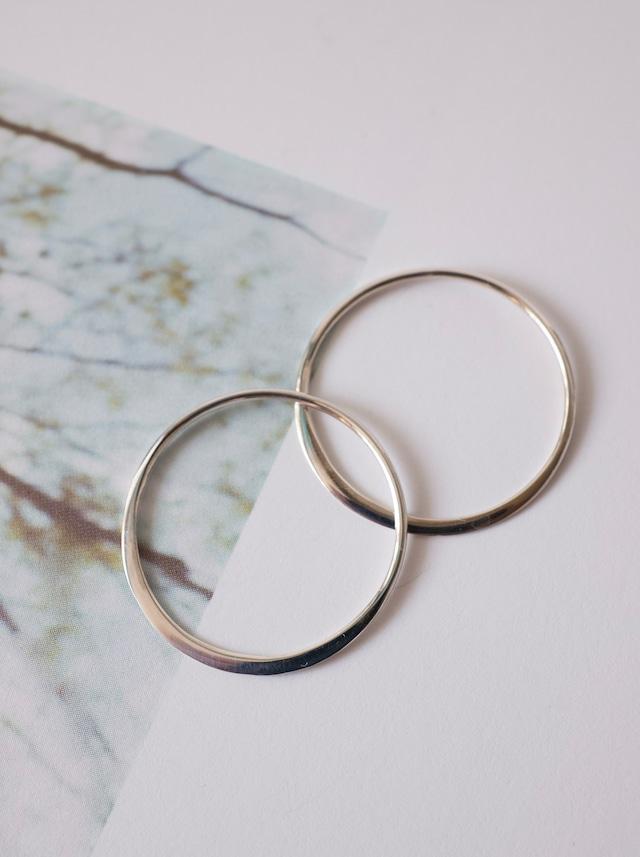 Circle Link Parts 24mm / Silver - 018