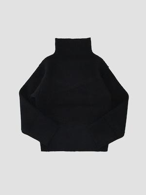 MAISON EUREKA COMPRESSED VOLUME SWEATER Black 266