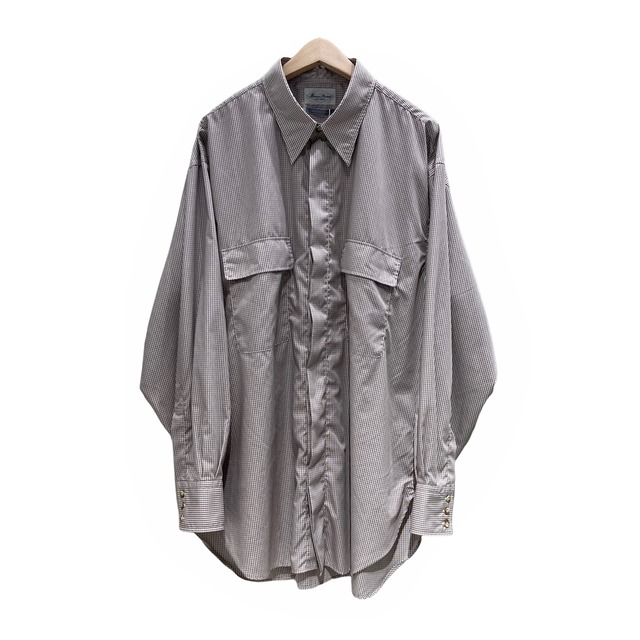 【Marvine Pontiak shirt makers】Fly Front 3 Button SH